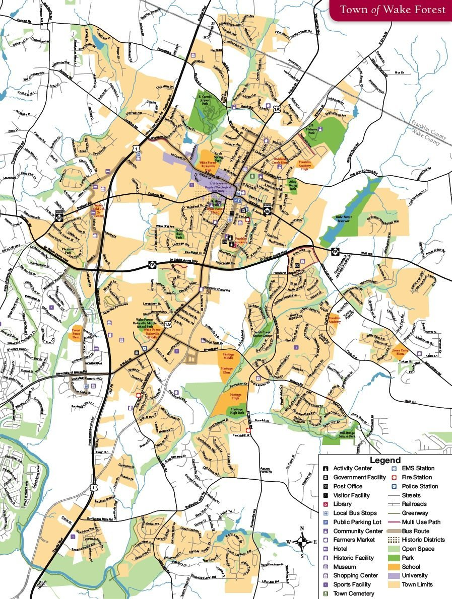 Maps - Wake Forest News